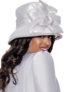 G8203 Hat (Gold, Purple, White)