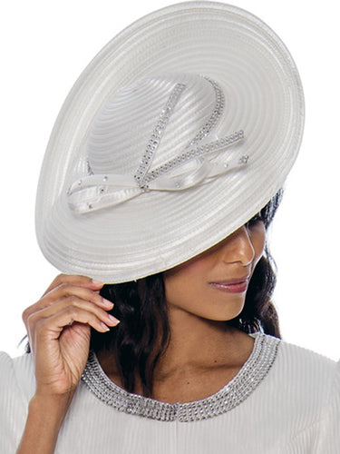 G8212 Hat (Black, White)