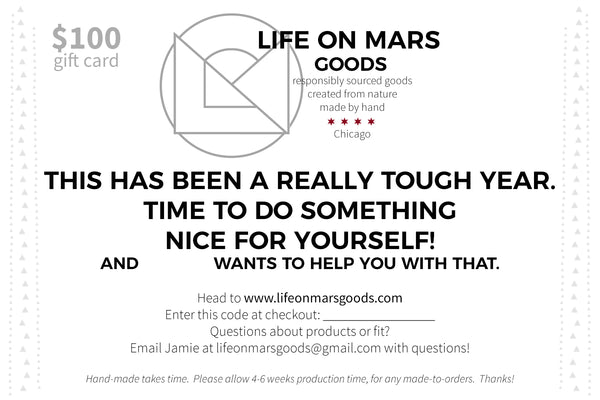 Life on Mars Goods Gift Card