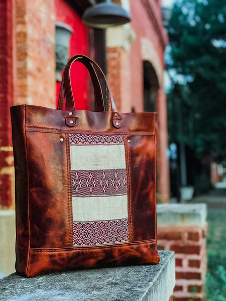 Burma Backpack Tote - Zippered