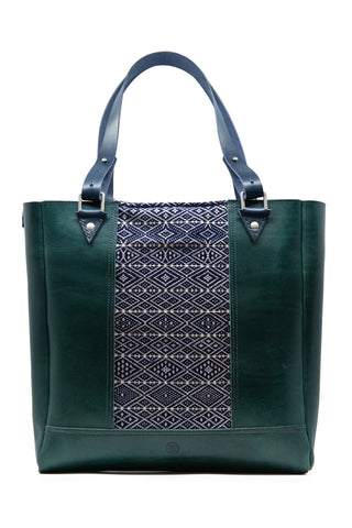 Forest Green Elemental tote