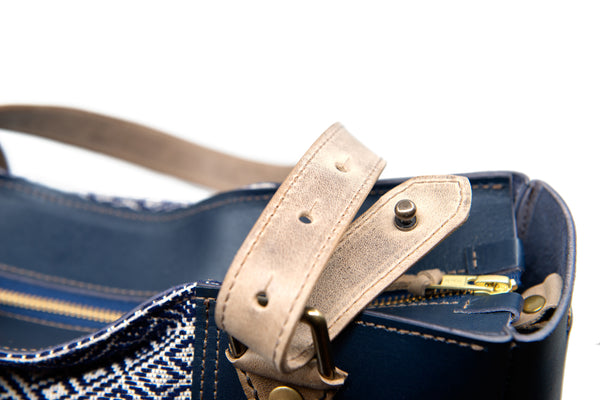 Deep Blue Sea strap detail