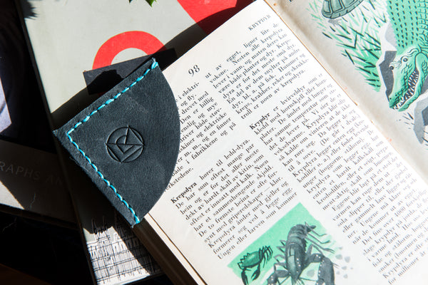 Leather Bookmark - Saved Your Spot