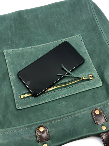 interior and exterior pockets fit most phones and other small items