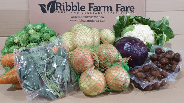 Christmas Vegetable Box