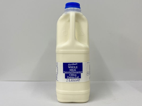 Milk Pasteurised Blue 2 Litre