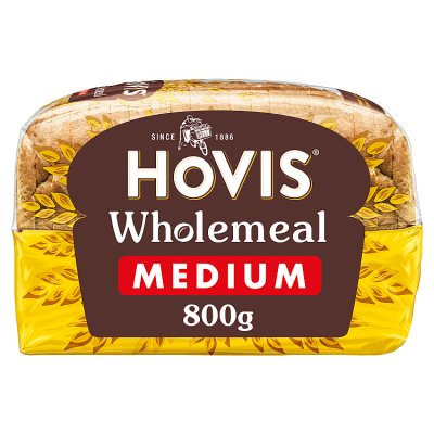 Hovis Bread Wholemeal Medium Sliced 800g