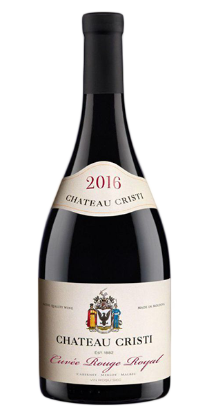 CHATEAU CRISTI :: CUVEE ROUGE ROYAL ·2016· 0,75 L.