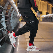 Load image into Gallery viewer, Black Gars Pants-Urban Shoes