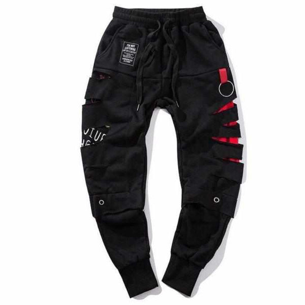 Black Gars Pants-Urban Shoes