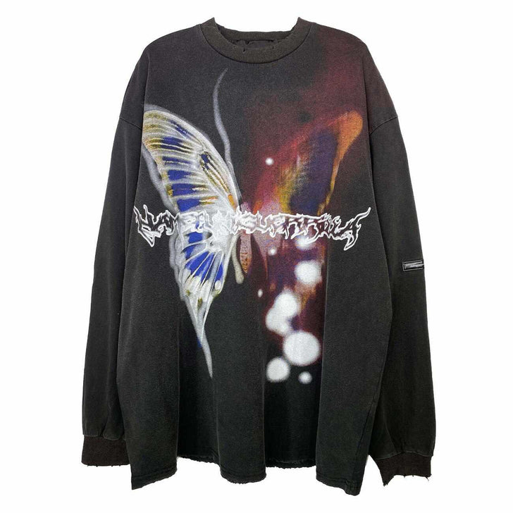 "UB ""Retro Butterfly"" Sweater-Urban Shoes"