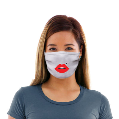 Adult Cotton Protective Mask with Beauty Mark