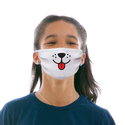 Kids Cotton Protective Mask with Puppy Face