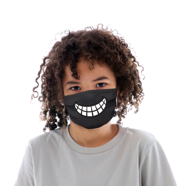 Kids Cotton Protective Mask with Smile