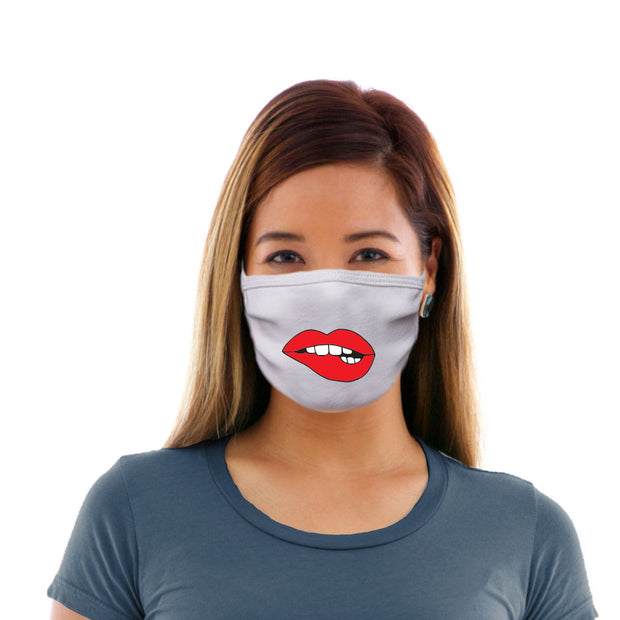 Adult Cotton Protective Mask with Lip Biting