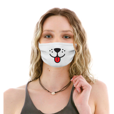 Adult Cotton Protective Mask with Dog Face