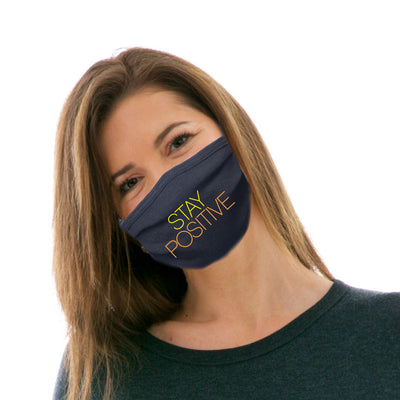 Adult Cotton Protective Mask with Stay Positive