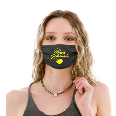 Adult Cotton Protective Mask with Make Lemonade