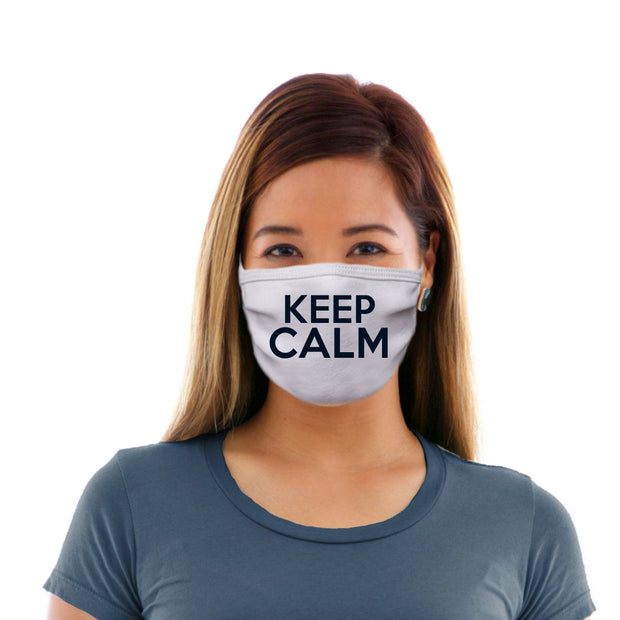Adult Cotton Protective Mask with Keep Calm