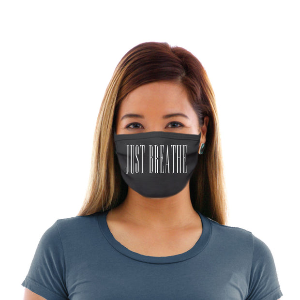 Adult Cotton Protective Mask with Just Breathe