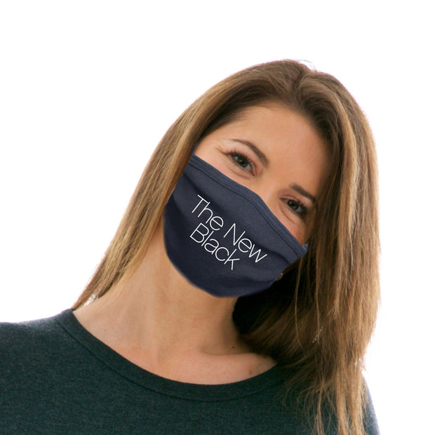 Adult Cotton Protective Mask with The New Black