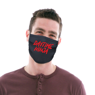 Adult Cotton Protective Mask with Daytime Ninja
