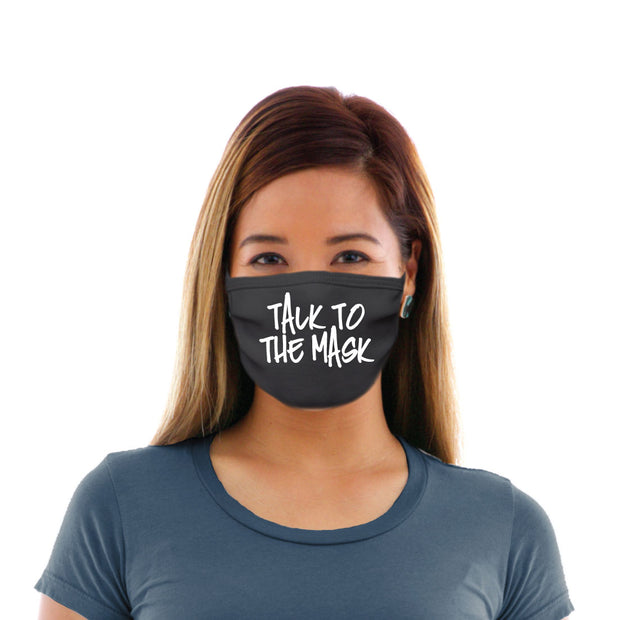 Adult Cotton Protective Mask with Talk to the Mask
