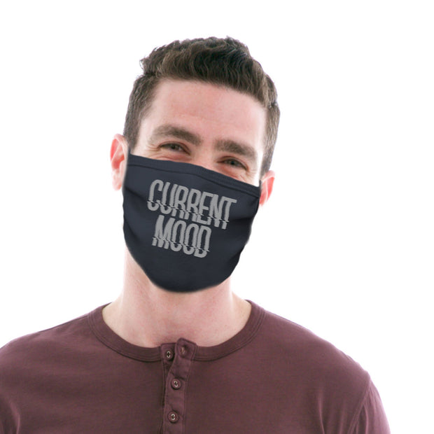 Adult Cotton Protective Mask with Current Mood