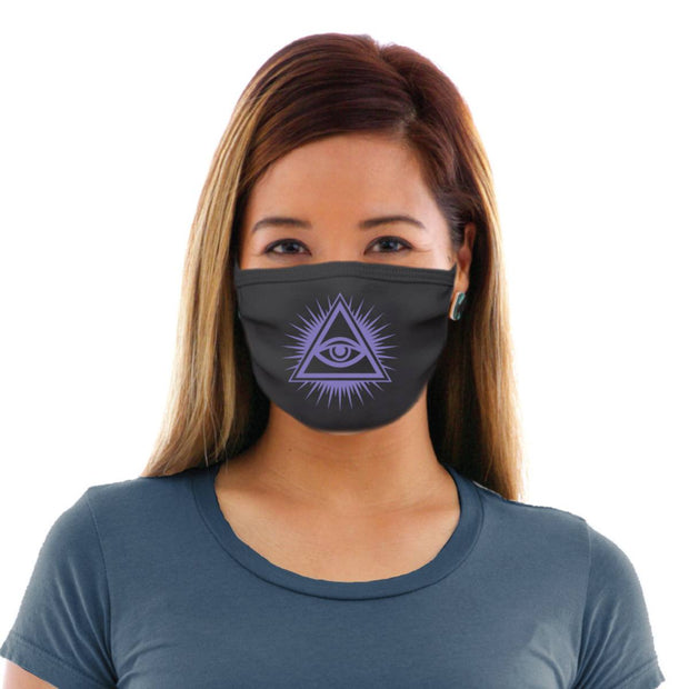 Illuminati Eye Adult Cotton Protective Mask