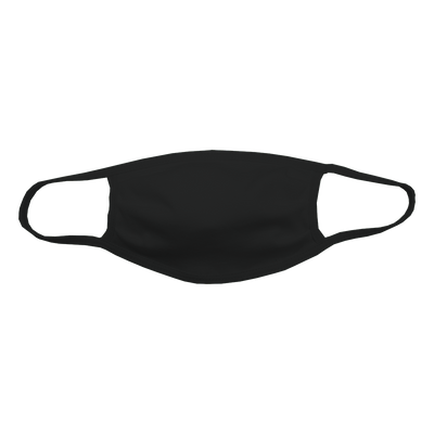 Black or White Customizable Face Mask