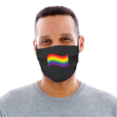 LGBTQ Pride Flag Adult Cotton Protective Mask