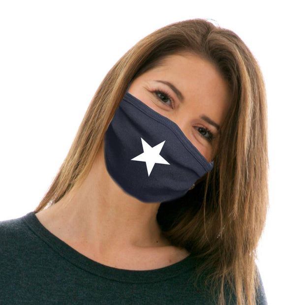 Single Star Adult Cotton Protective Mask
