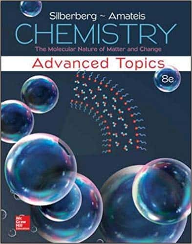 Chemistry: The Molecular Nature of Matter and Change With Advanced Topics (8th Edition)