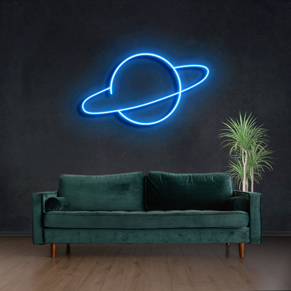 Planet Neon Sign