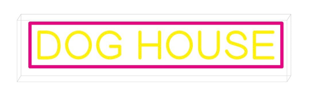Dog House Custom Neon Sign 75cm [1642]