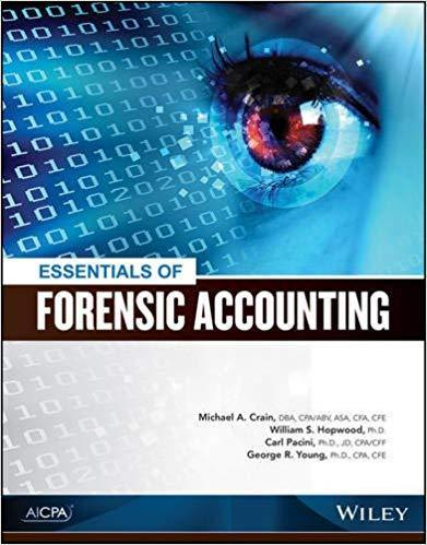 Essentials of Forensic Accounting 1e