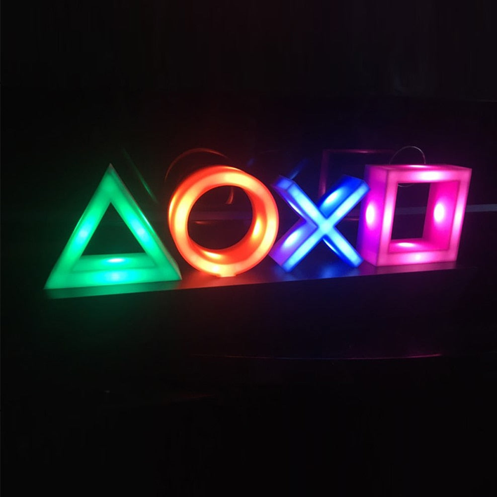 Playstation USB Voice Activated Neon Sign