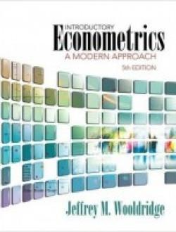 Introductory Econometrics A Modern Approach 5th Edition