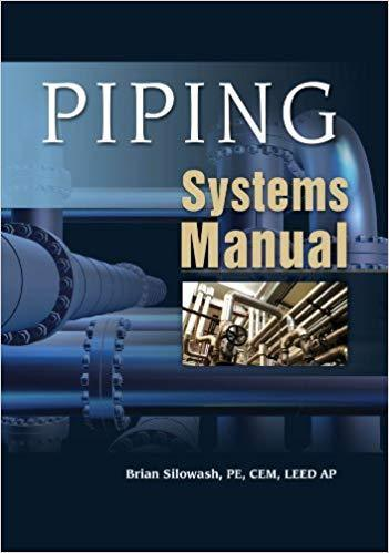 Piping Systems Manual 1st edition by Silowash