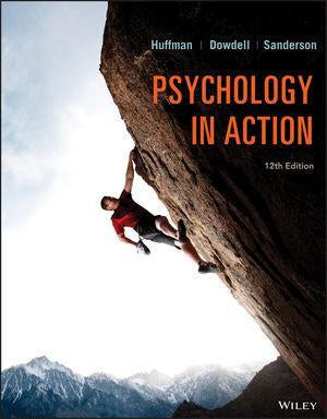 Psychology in Action 12th Edition