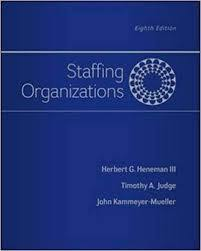 Staffing Organizations 8th