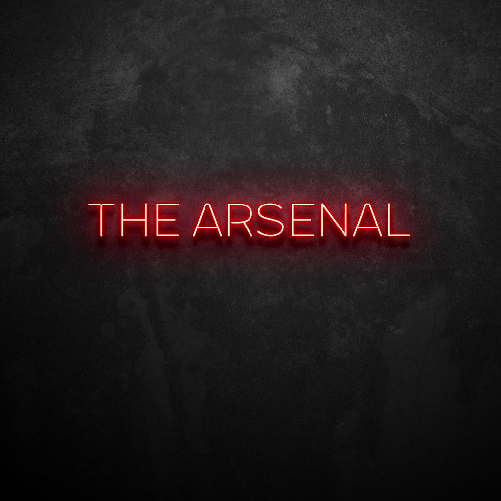 The Arsenal Neon Sign