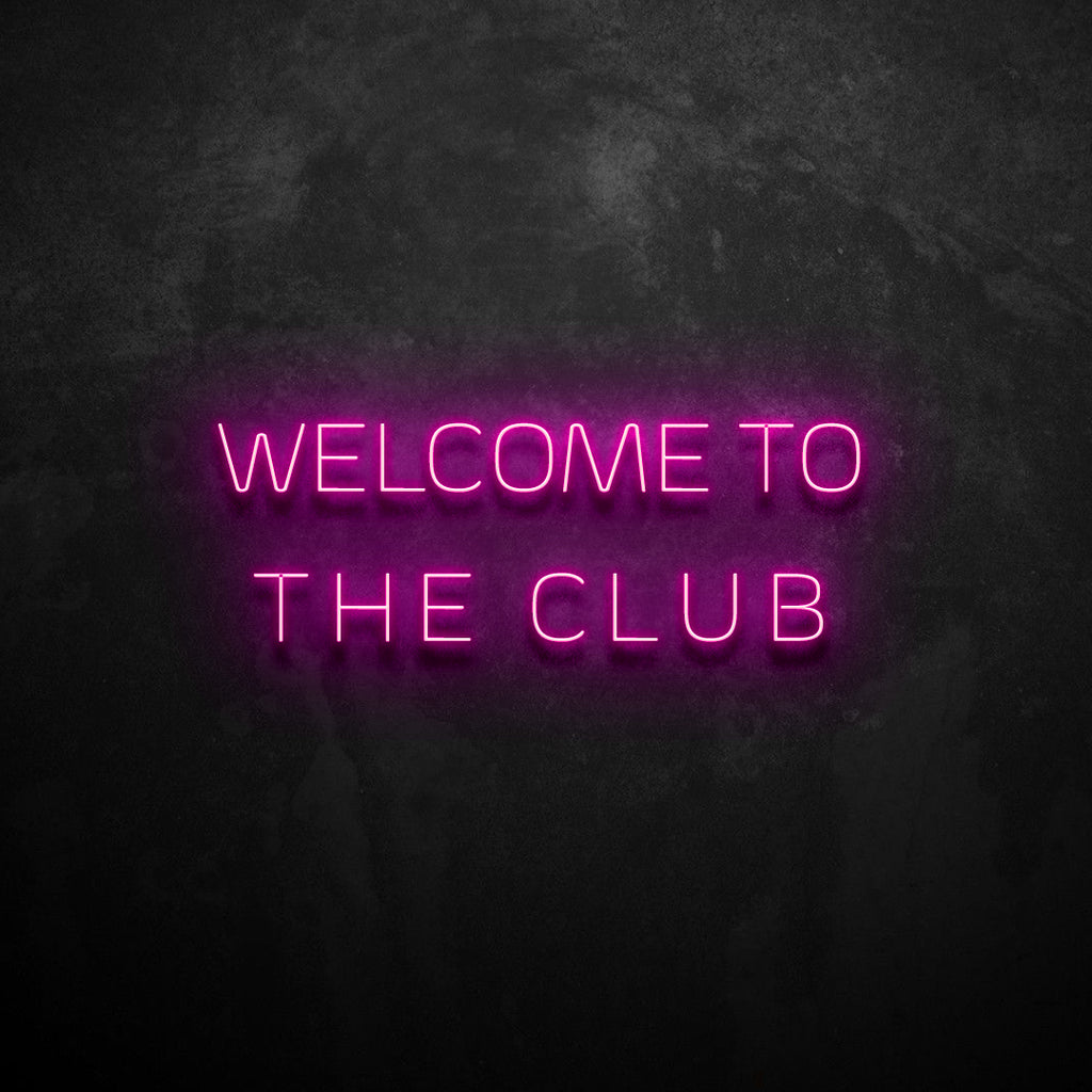 The Club Neon Sign