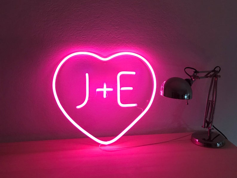 Initials Custom Neon Sign
