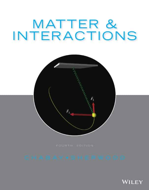 Matter and Interactions (4th Edition)