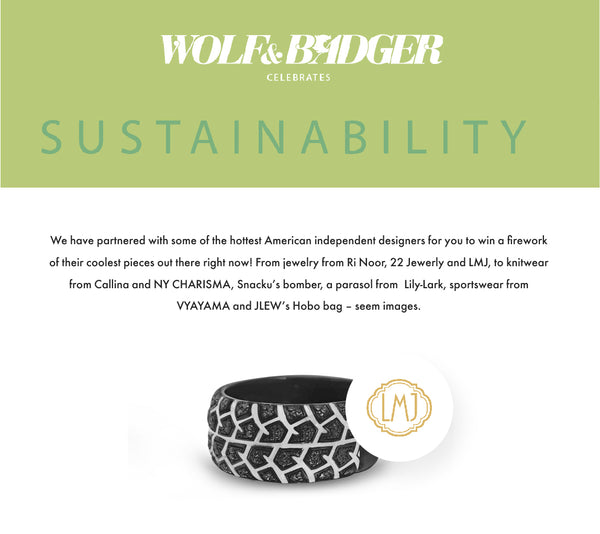 Wolf & Badger Celebrates Sustainability