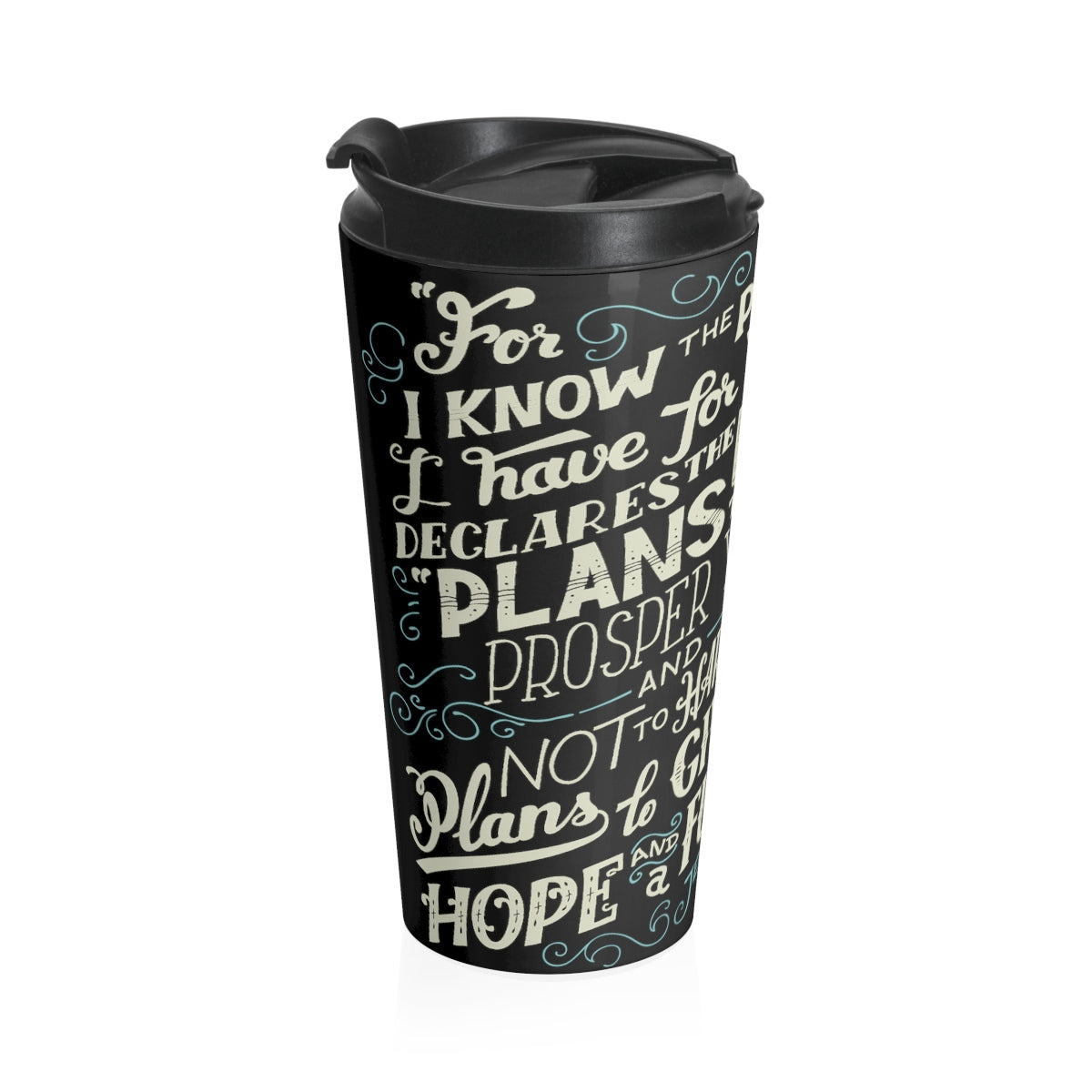 Jeremiah 29:11 Stainless Steel Travel Mug
