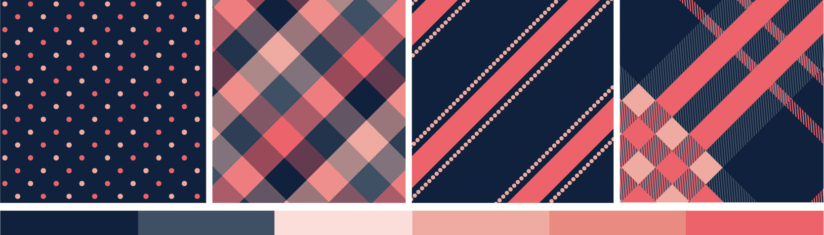 Plaid Tie Designs