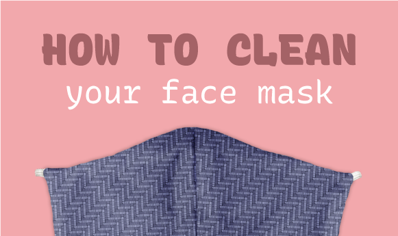 How To Clean Your Face Mask