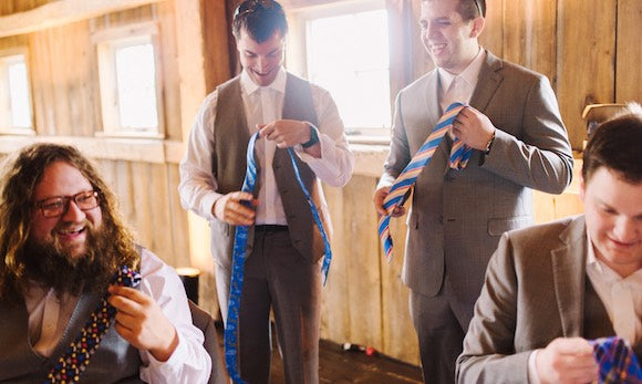 Wedding Ties for Groomsmen Gifts